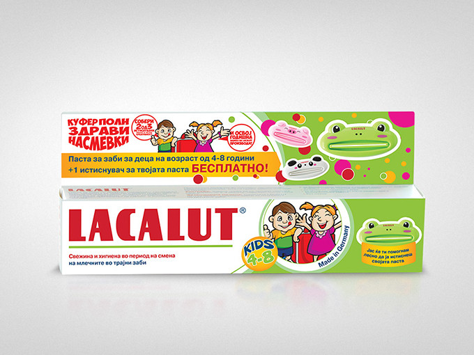 Lacalut Packaging Design - Natusana Macedonia