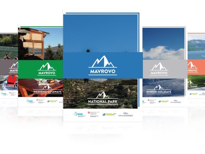 Brochure for promotion of National Park Mavrovo - National Park Mavrovo
